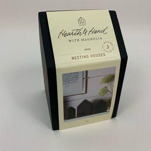Magnolia Hearth & Hand Black Nesting Houses